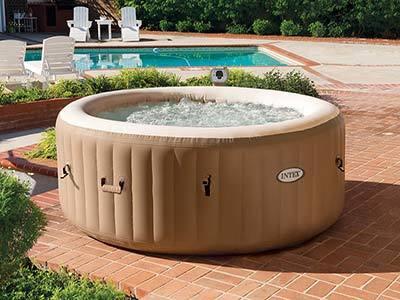 Intex 77in PureSpa Portable Bubble hot tub