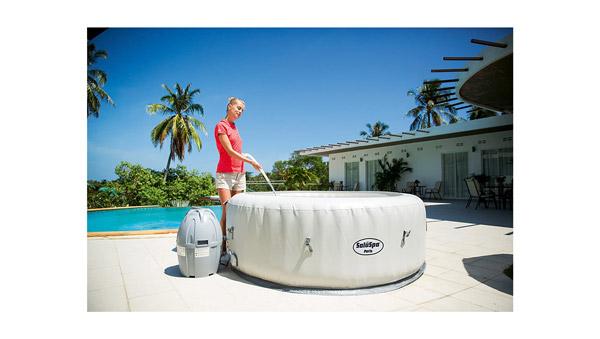 Top best saluspa paris airjet inflatable hot tub