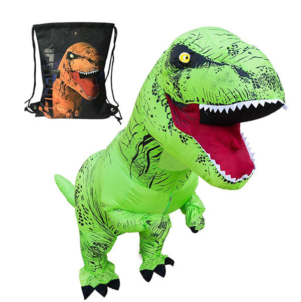 Luckysun Adult Dinosaur Inflatable Costume