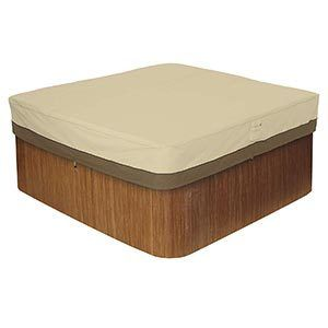 Classic Veranda Square Hot Tub Cover