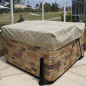 CoverMates Square Hot Tub Cover