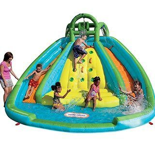 Little Tikes Rocky Mountain inflatable Slide Bouncer