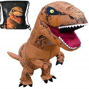 Luckysun Adult Dinosaur shape Inflatable Costume
