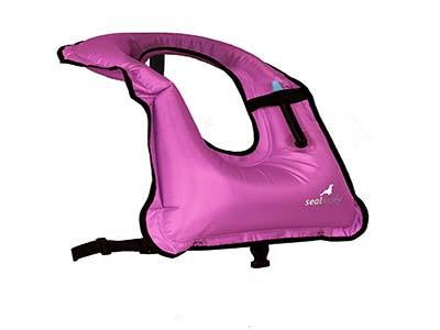 SealBuddy Inflatable Snorkel Vest
