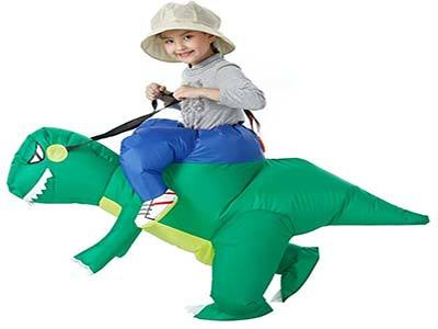 YEAHBEER Dinosaur Inflatable Costume T Rex