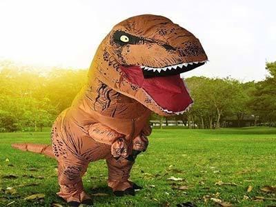 trex inflatable costume